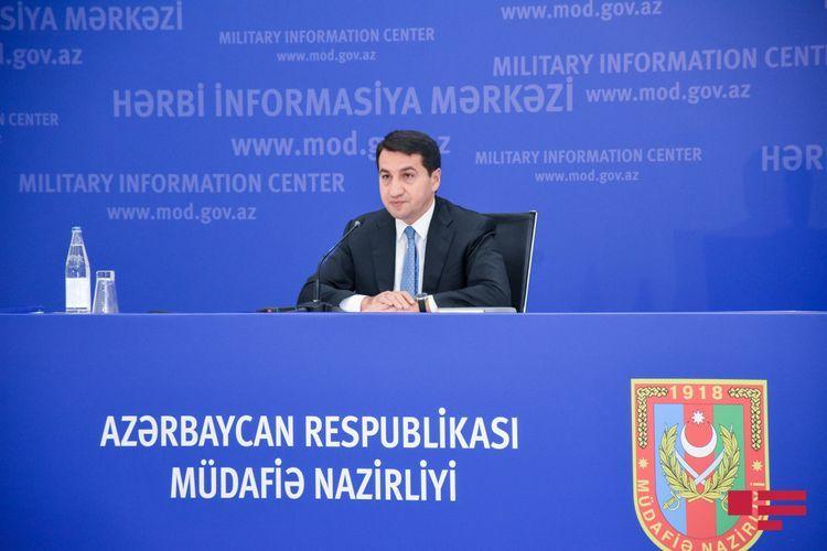 Хикмет Гаджиев: Правое дело Азербайджана поддерживается на международном уровне, это результат проводимой долгие годы дипломатической политики