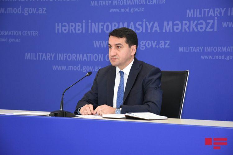 Хикмет Гаджиев: Азербайджанская Армия не воюет с гражданскими лицами