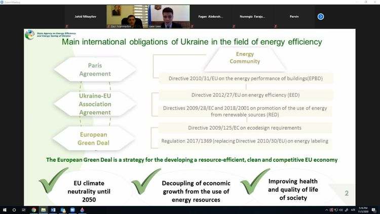 Bərpa olunan enerji sahəsində Azərbaycan-Ukraynanın əməkdaşlıq imkanları müzakirə edilib