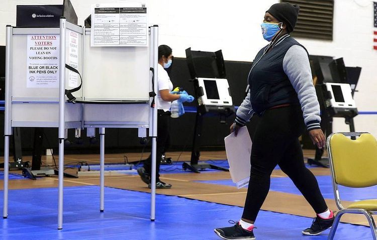 Over 100 million Americans cast presidential election ballots early