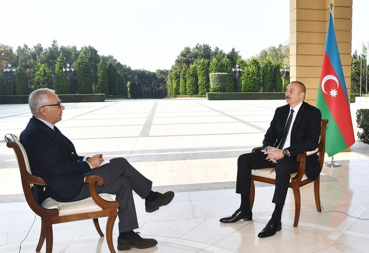 """President Ilham Aliyev: """"Our task was to restore territorial integrity of Azerbaijan, and we are coming closer to this task"""""""