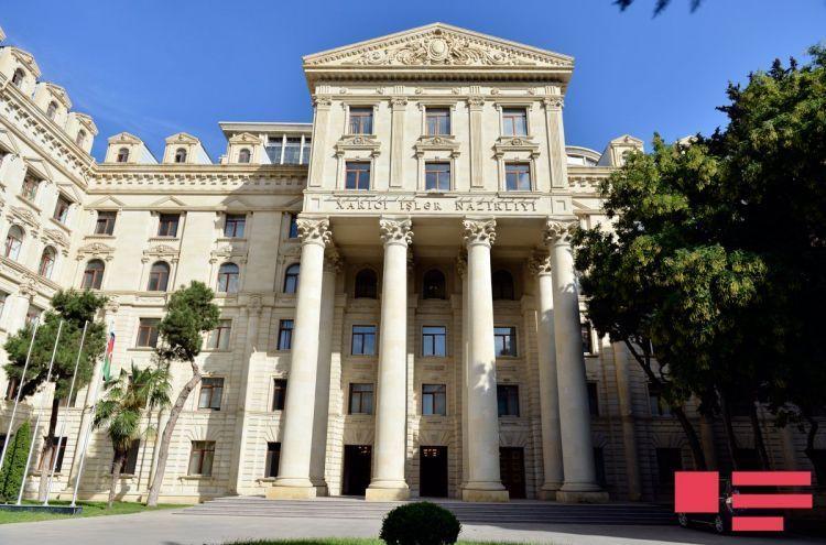 Azerbaijani Foreign Ministry responds to the Armenian President