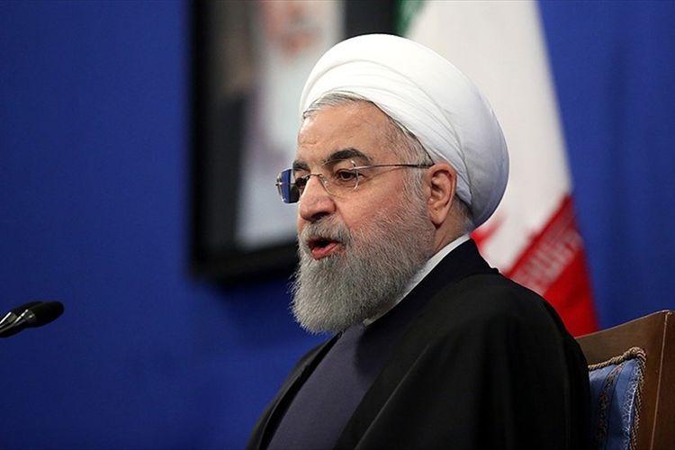"Iranian President: ""Ensuring territorial integrity is right of Azerbaijani people"""