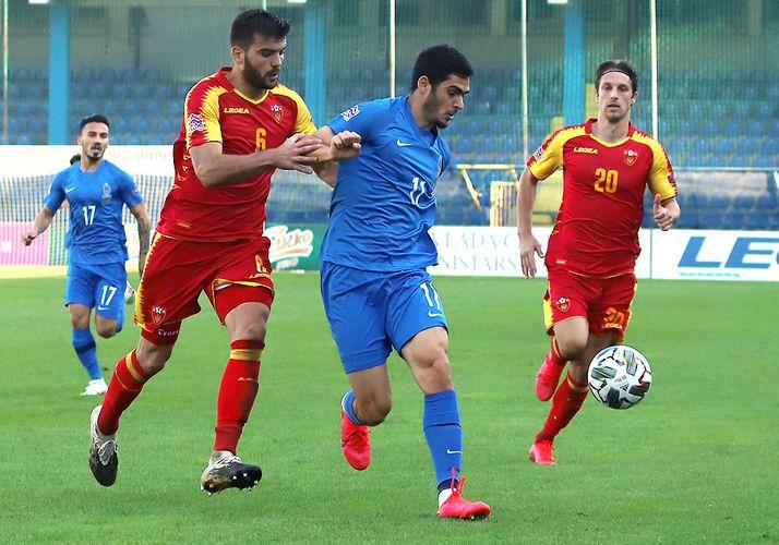 Monteneqro Azərbaycanla oyun üçün heyətini açıqlayıb