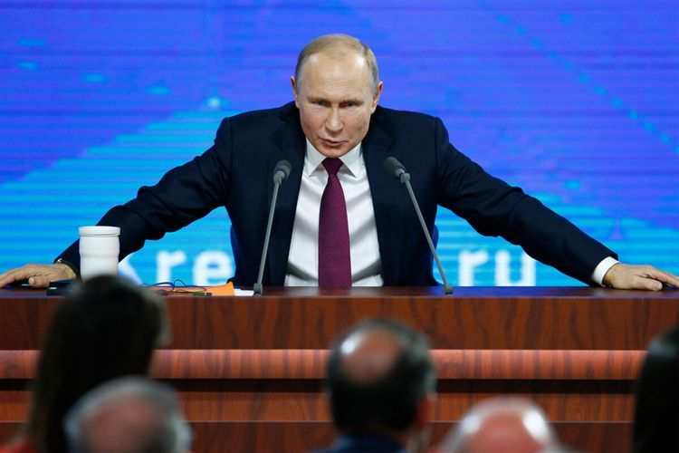 """Putin: """"Russia does everything to end conflict in Nagorno-Karabakh"""""""