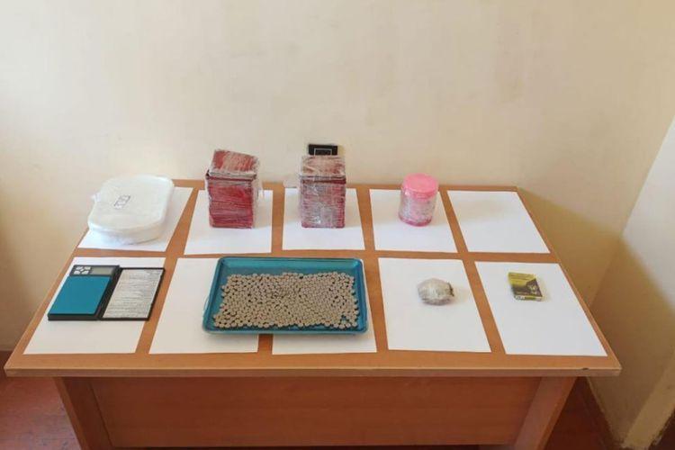 ГПС предотвратила попытку контрабанды около 14 кг наркотиков через государственную границу