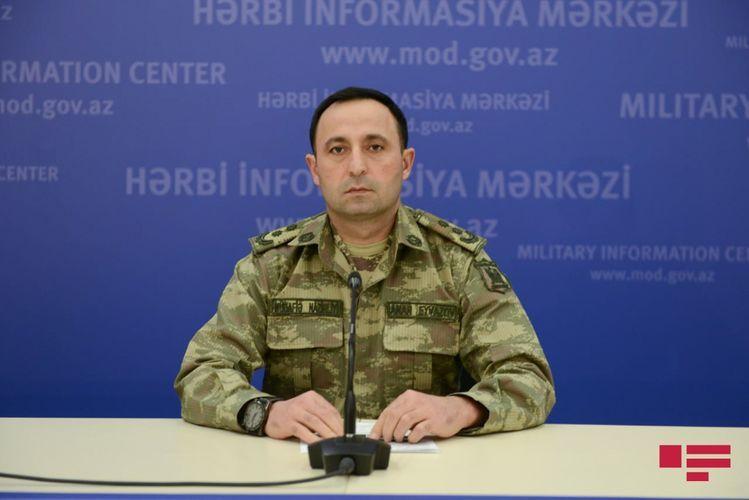 Минобороны: Азербайджанская армия по приказу Верховного Главнокомандующего освобождает оккупированные земли
