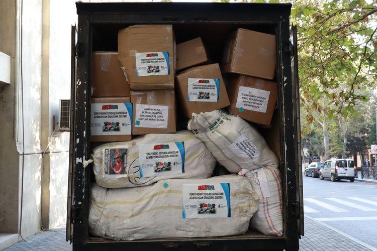 Azerbaijani Diaspora sends aid to army and civilian population