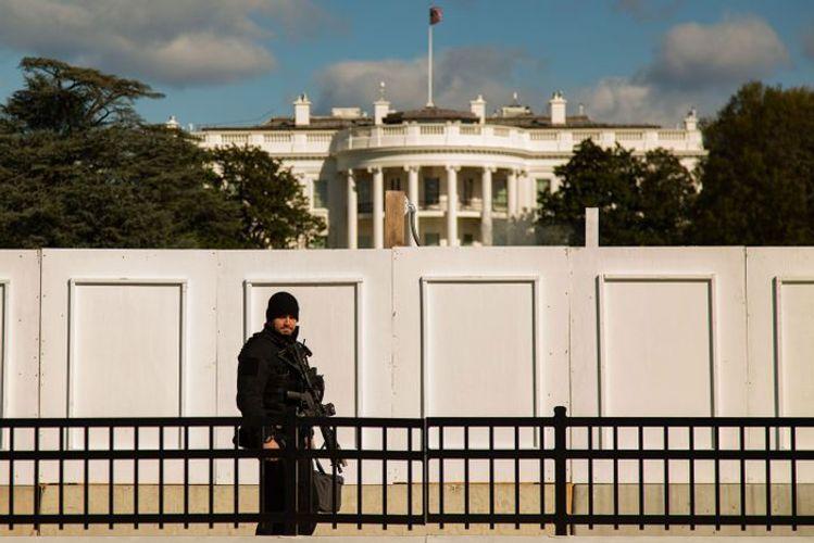 У Белого дома ранили четырех сторонников Дональда Трампа