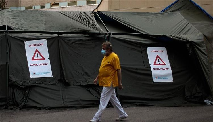 Spain's COVID-19 death toll surges by 1,623