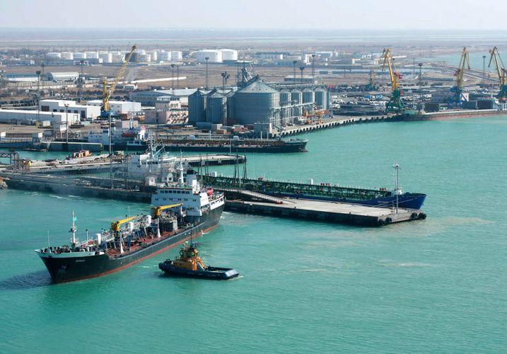 Xəzəryanı ölkələrin Qazaxıstan limanlarından istifadə imkanları genişləndirilib