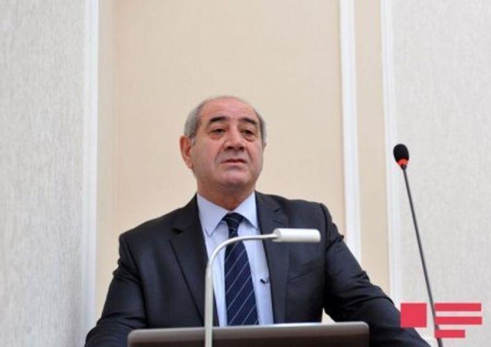 "Gurban Yetirmishli: ""The earthquakes sensed in recent days in Azerbaijan are not a reverberation of the earthquake in Izmir"""