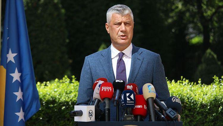 Tanınmamış Kosovonun Prezidenti istefa verib