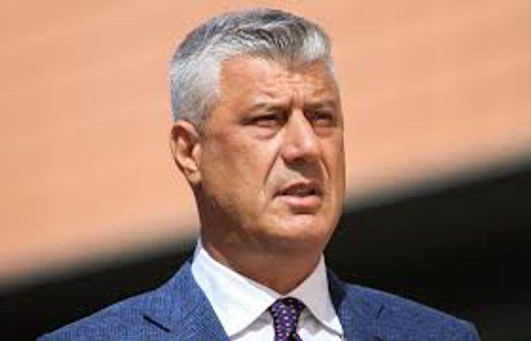 President of unrecognized Kosovo Republic Hashim Thaci resigns