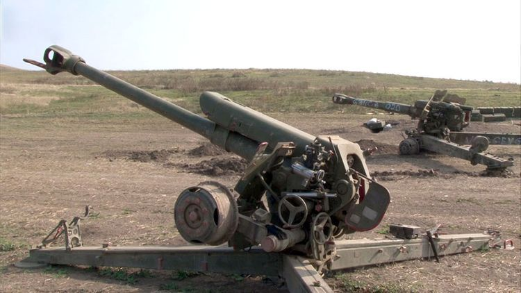 Military equipment left on battlefield by fleeing Armenian armed forces - VIDEO