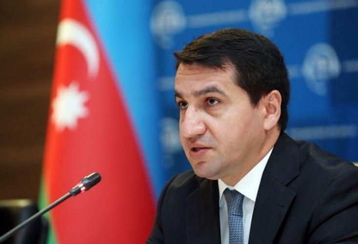 Хикмет Гаджиев: Мы решительно осуждаем нападки армянского лобби на свободные СМИ, свободу выражения
