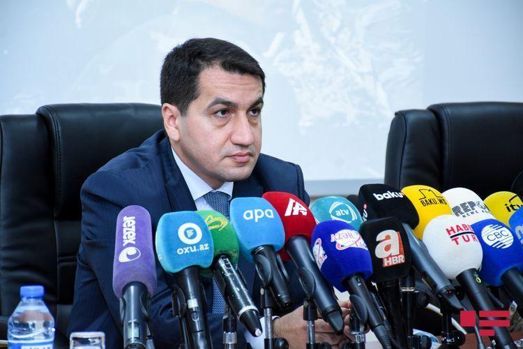 Помощник президента: Призываем организацию «Репортеры без границ» и представителя ОБСЕ по свободе СМИ осудить нападки армянского лобби на СМИ