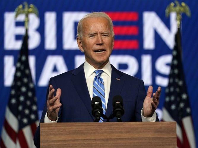 "Biden campaign calls Trump's attempts to suspend ballot count ""political theater"""