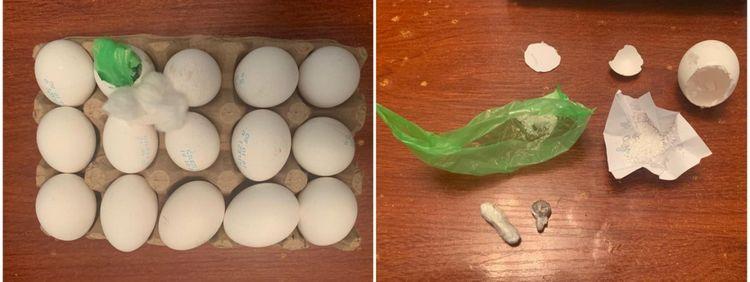 Penitensiar Xidmətin Müalicə Müəssisəsinə yumurtanın içində narkotik keçirmək cəhdinin qarşısı alınıb