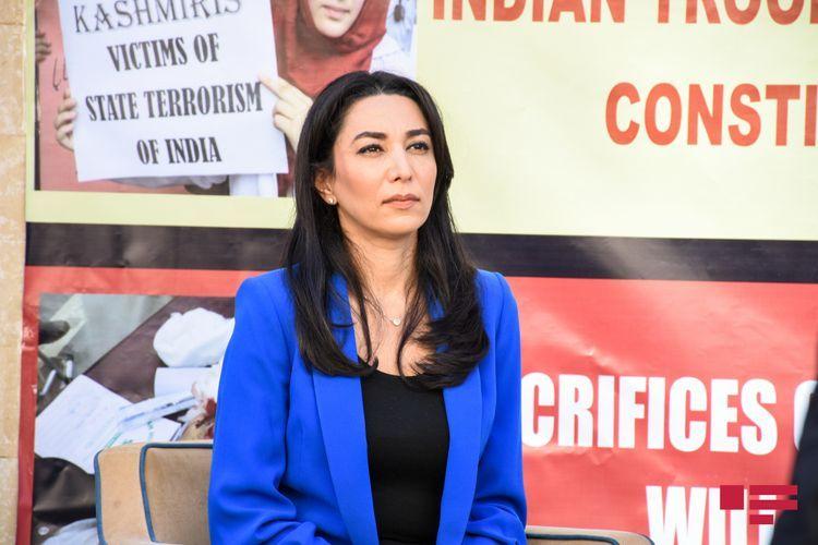Омбудсмен обратилась к международному сообществу в связи с умышленным поджогом и уничтожением Арменией лесов в Шуше