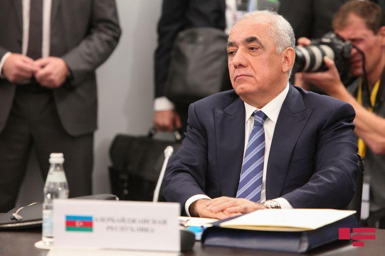 Azerbaijani PM calls on CIS countries to condemn Armenian military activity against Azerbaijani civilians