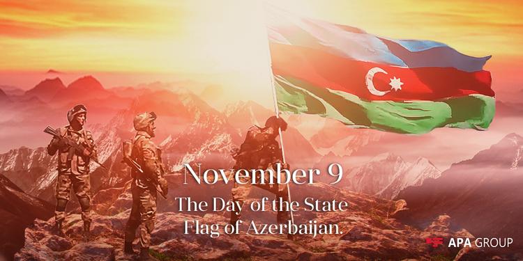 Azerbaijan marks National Flag Day