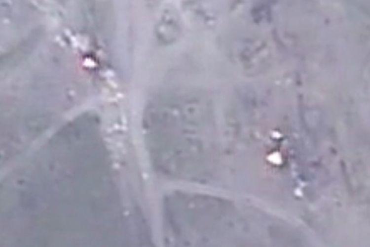 MN: Ermənistan silahlı qüvvələrinin döyüş mövqelərinə zərbələr endirilib - VİDEO