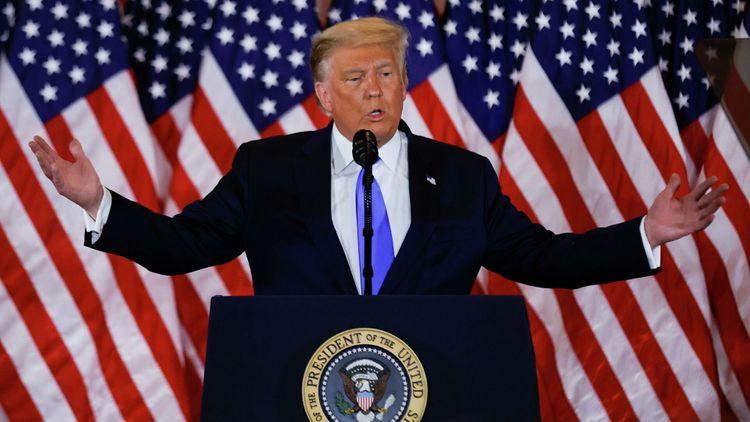 CNN: Трамп заявил помощникам, что не намерен признавать поражение