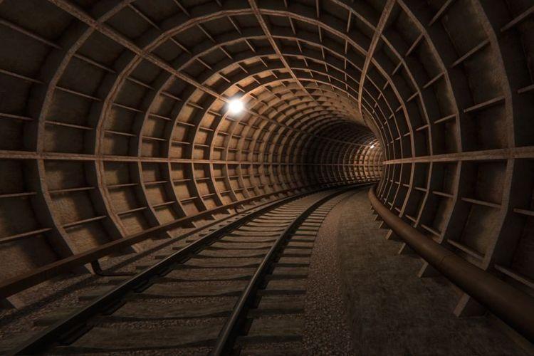 """Metronun """"Xocəsən"""" deposunu """"Avtovağzal"""" stansiyası ilə birləşdirən tunellərdə qazıntı işləri başa çatıb"""