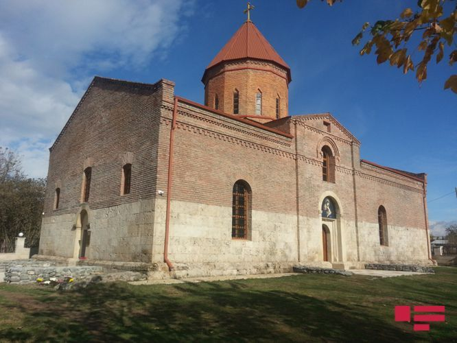 Church in Nij settlement of Azerbaijan's Gabala was repaired and put into operation by the Heydar Aliyev Foundation