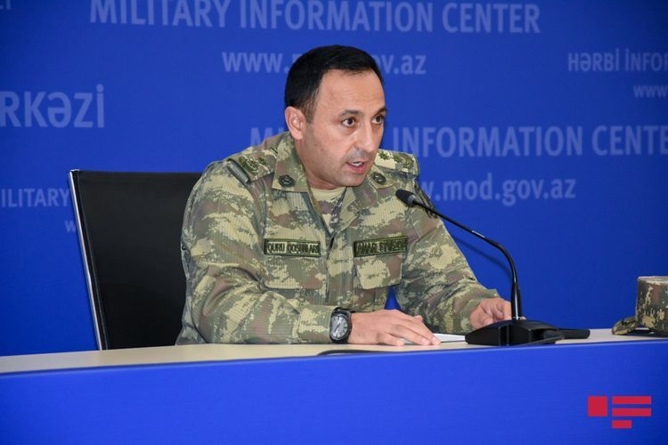 """Azerbaijani MoD: """"Operational conditions are under the control of our army, and battles continue in all directions of the front"""""""