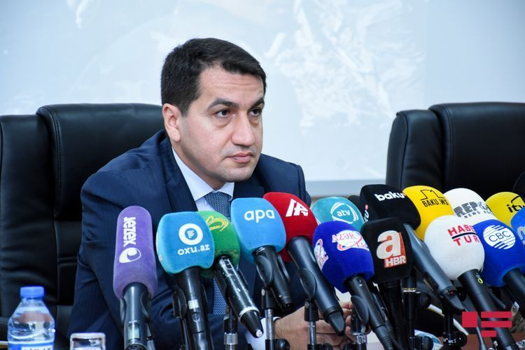 Hikmet Hajiyev: Another evidence of the illegal settlement policy pursued by Armenia in our occupied territories for many years, emerged