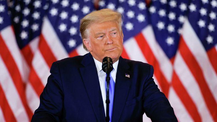 Трамп прокомментировал прогнозы СМИ о победе Байдена