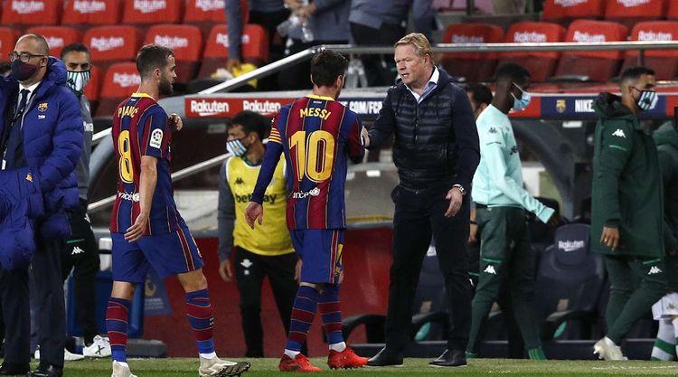 Lionel Messi mövsümdə ilk dəfə oyun epizodunda qol vurub