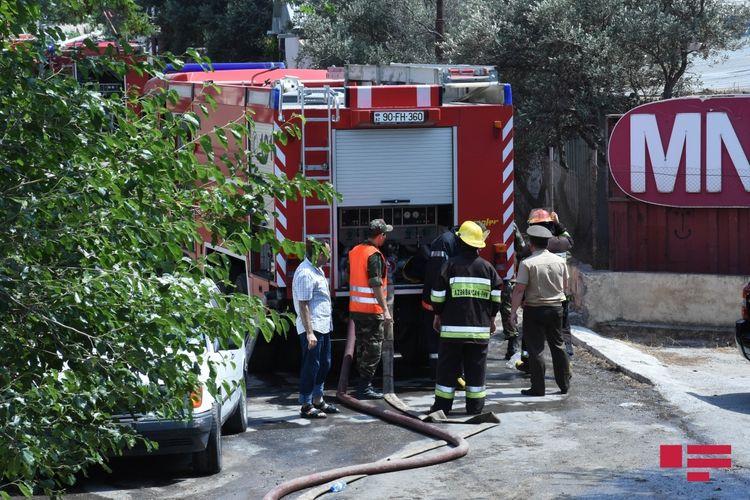 Hacıqabul və Sabirabad rayonlarında ev yanıb