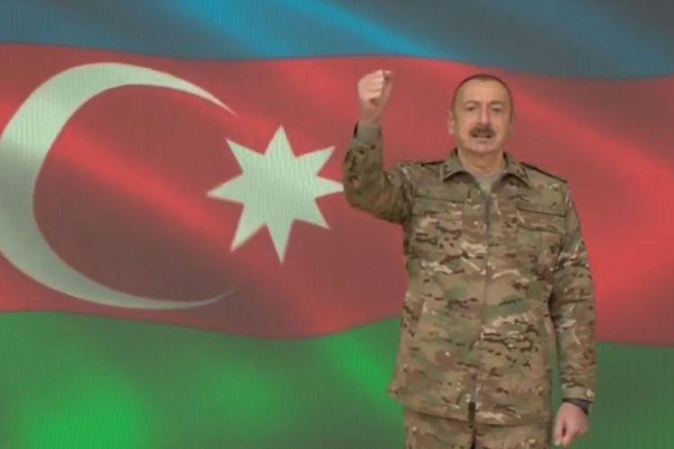 Azerbaijani President: Shuhsa liberated from occupation