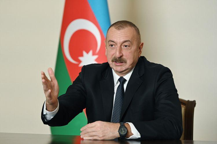 """Prezident İlham Əliyev: """"Biz bütün dünyaya sübut etdik ki, Qarabağ əzəli Azərbaycan torpağıdır"""""""