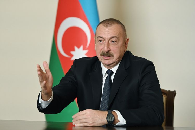 """Prezident İlham Əliyev: """"Bu gün Azərbaycan xalqı yumruq kimi birləşib! Bu birlik əbədi olacaq!"""""""