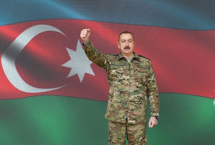 """Victorious Supreme Commander-in-Chief: """"The invincible army is the Azerbaijani Army! It shows it on the battlefield"""""""