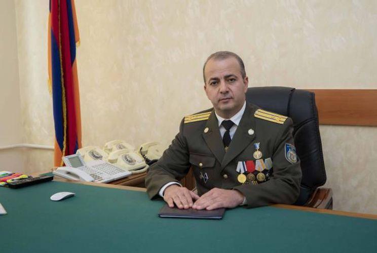В Армении вновь сменился директор СНБ