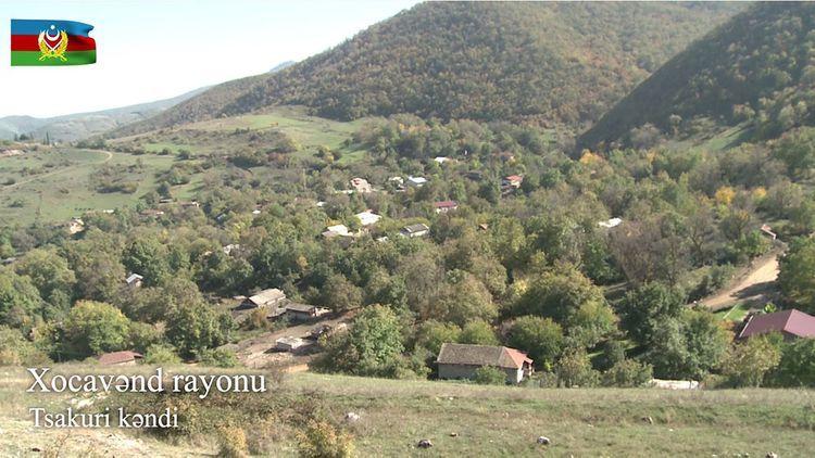 Кадры из освобожденного от оккупации села Цакури Ходжавендского района - ВИДЕО