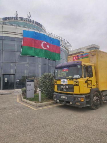 Очередная акция поддержки Азербайджанской Армии от Improtex Group
