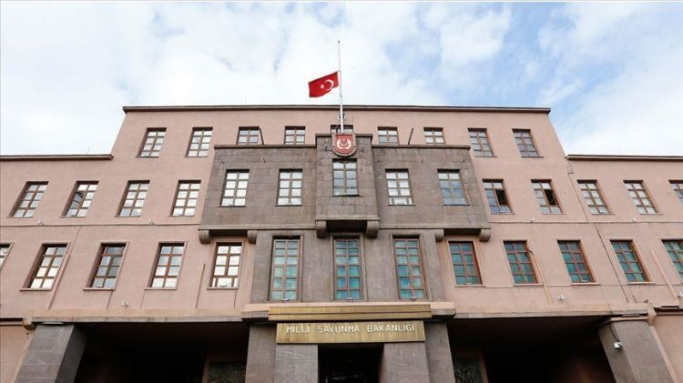 Turkey's Defense Ministry congratulates Azerbaijani people on occasion of National Flag Day