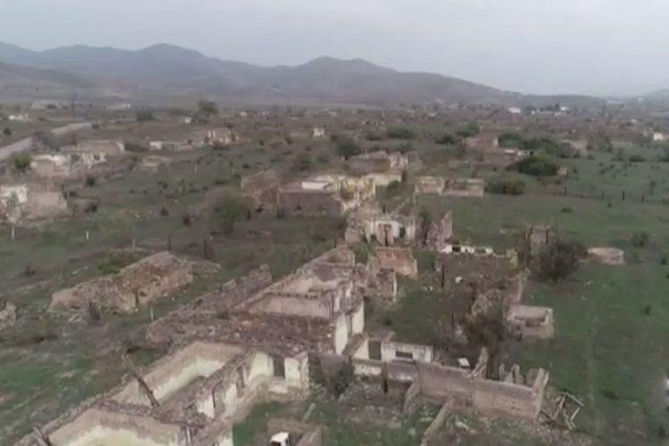 Zəngilanın işğaldan azad edilmiş Bartaz qəsəbəsi - VİDEO