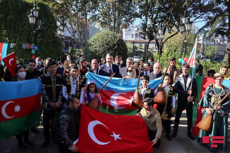 Gürcüstan azərbaycanlıları Şuşanın işğaldan azad edilməsini qeyd ediblər