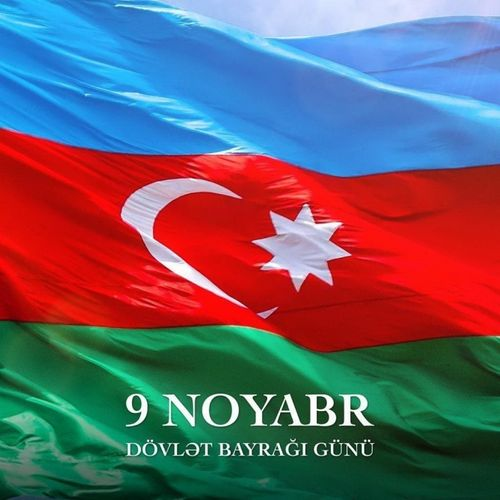 Mehriban Aliyeva congratulated Azerbaijani people on the occasion of National Flag Day