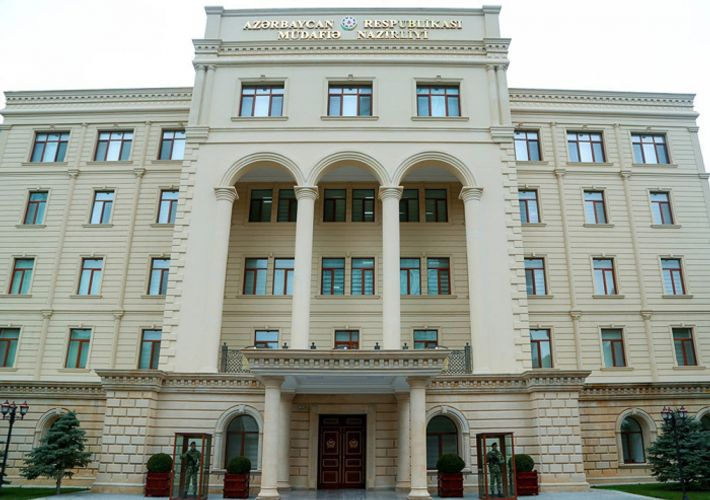 """Ministry of Defense of Azerbaijan: """"Enemy vehicle moving from Khojaly to Khankendi was destroyed"""""""