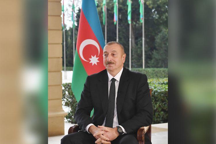 Президент Ильхам Алиев: Мне сообщили, что «руководитель» Нагорного Карабаха уже в Ереване