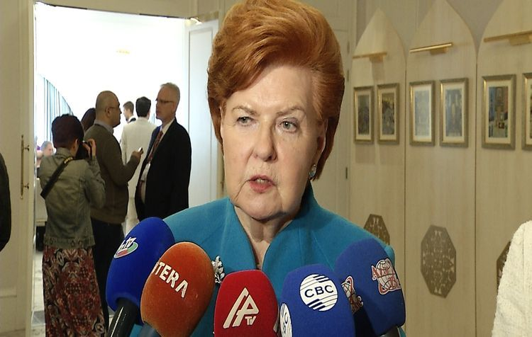 """Former President of Latvia: """"I hope that all the territory of Garabagh will be liberated from occupation soon"""""""