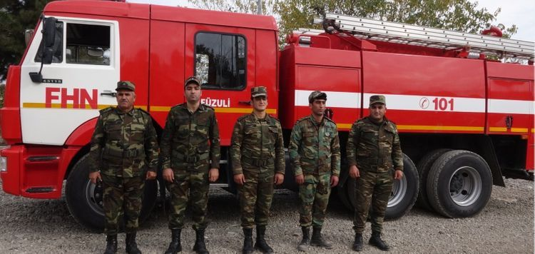 Local structures of the MES State Fire Protection Service are launched in the territories liberated from occupation
